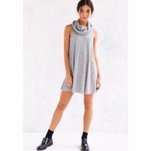 BDG Grey Cowl Neck Dress